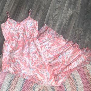 Jack Modcloth Maxi Spring Dress Size Medium